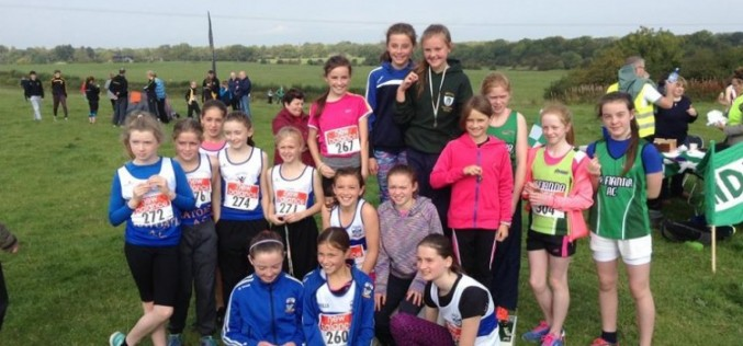 Juveniles at Meath XC Championships, St Andrews AC
