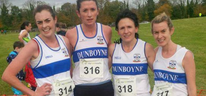 Seniors at Leinster Novice XC