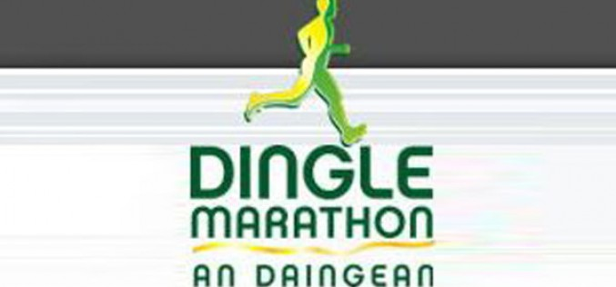 Cian Mangan in action at the Dingle Half Marathon