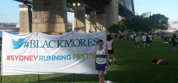 Joan Hodgins at the Sydney Bridge Run