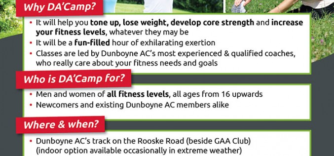 ***DA'Camp 2016 – This Saturday 9th January***