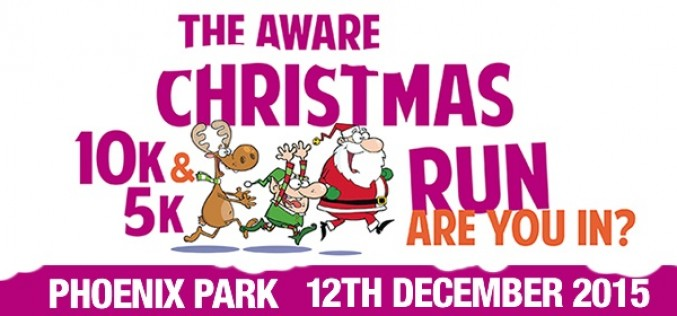 Aware Christmas 5K & 10K, Phoenix Park, Saturday 12th December 2015