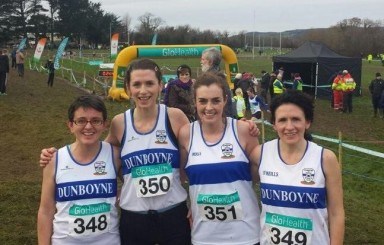 Dunboyne AC at the National Novice CC, Dungarvan, 6/12/2015