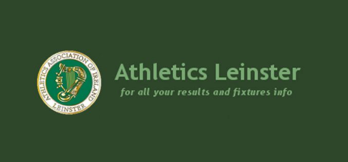 Silverware for Thomas Thornton and Jack Nyhan at the Leinster Indoor Championships