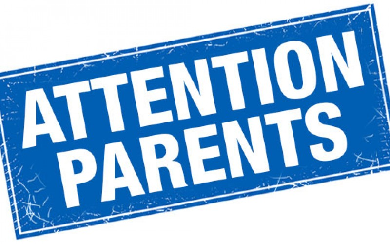 Notices for parents of juveniles