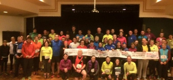 Irish Runner Paced Mile, Day 2, ALSAA, Wednesday 24th February 2016