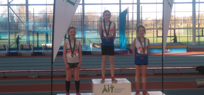 Day 2 – Leinster Track & Field Indoor Championships – Continued success.