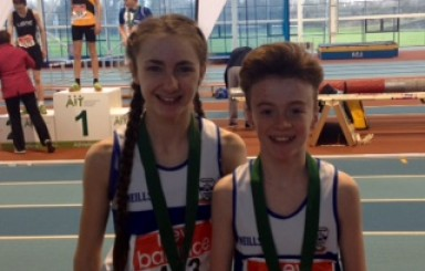 Day 1 Leinster Track and Field Indoors Championship – Youngsters Impress