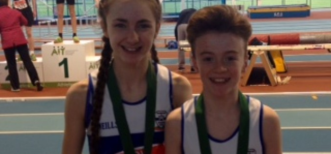 Day 1 Leinster Track and Field Indoor Championships – Youngsters Impress