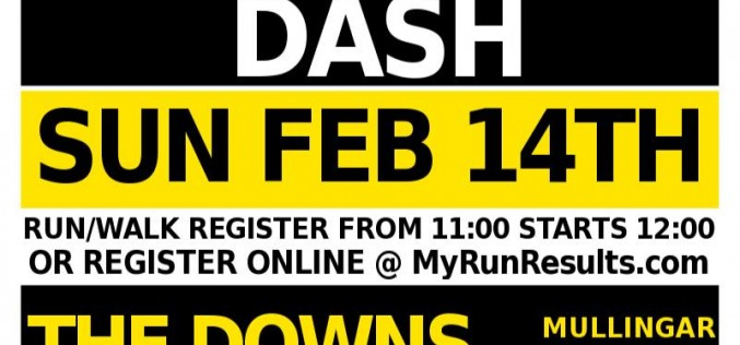 The Downs Mullingar 10K, Saturday 14th February 2016