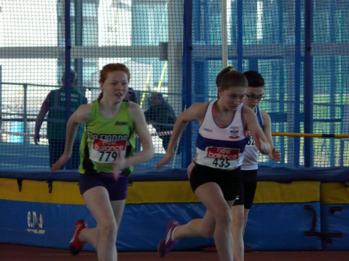 Day 2 – Leinster Track & Field Indoor Championships – Continued success