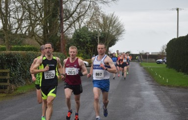 Seniors at Trim 10 mile 7th Feb 2016