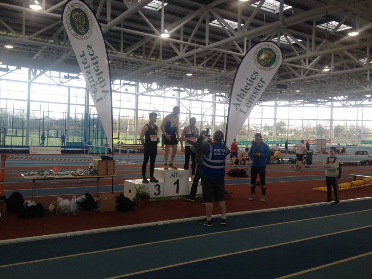 Leinster Indoor Championships last Sunday 6th March