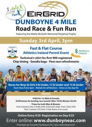 Dunboyne AC 4 Mile Road Race
