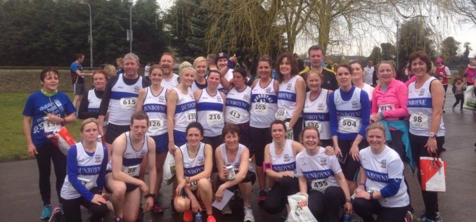Fit4Life, Couch to 5K and some friends of Dunboyne AC in the Dunboyne 4 Mile, Sunday 3rd April 2016