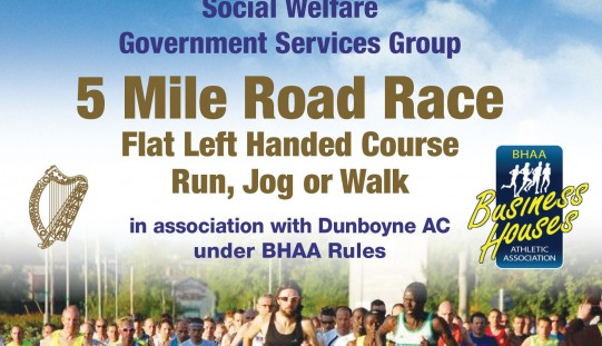 Nearly time for Paul Gorey's BHAA 5 Miler…
