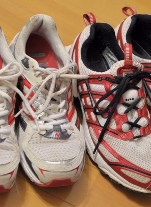 Old runner collection for the homeless – don't forget!