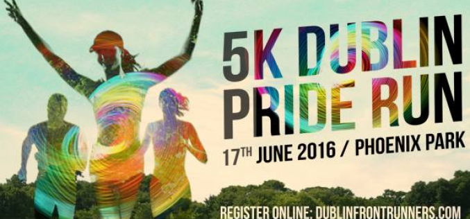 Podium positions all round at 5th Annual Pride Run, Phoenix Park, 17th June 2016