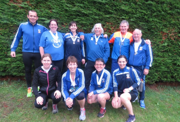 Dunboyne AC in action at the National Masters T&F Championships, 21st August 2016