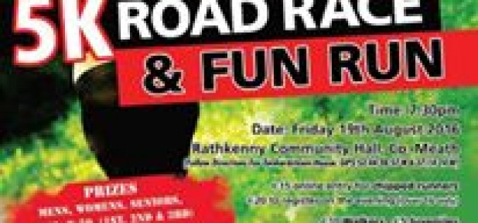 Rathkenny AC 5k Road Race & Fun Run