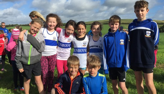Juveniles & Fit4Youth at Star of the Sea Cross Country, 25/9/2016