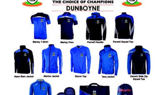 Club Kit Sale Monday 14th & Tuesday 15th