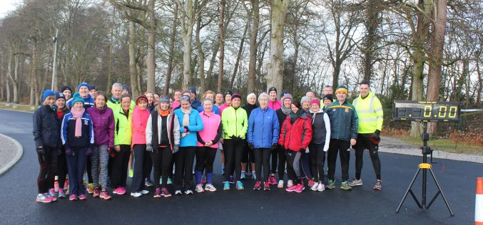 Couch to 5K smashing the 2.5K challenge at Dunboyne AC Track, Saturday 28th January 2016