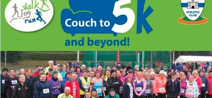 Couch to 5K and Beyond 2.5K challenge: The Sequel Dunboyne AC Track, Tuesday 31st January 2017