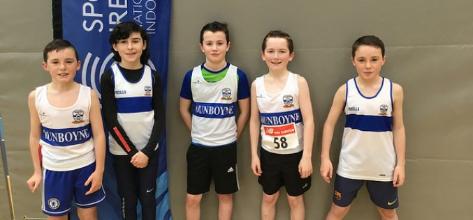 Dunboyne AC and the Leinster Juvenile Indoors Relays
