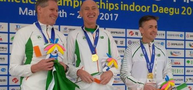 Newsflash: Gold for Michael Cornyn, Dunboyne AC and Ireland at the World Masters Championships in Korea