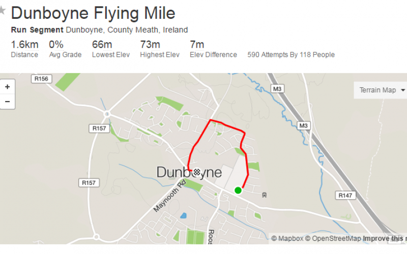Strava Flying Mile