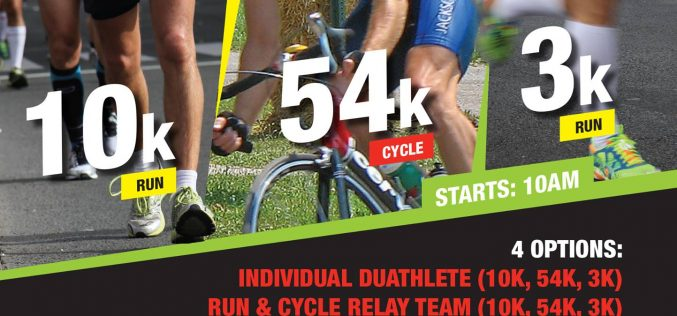 The Frank Fagan Duathlon, 14th May