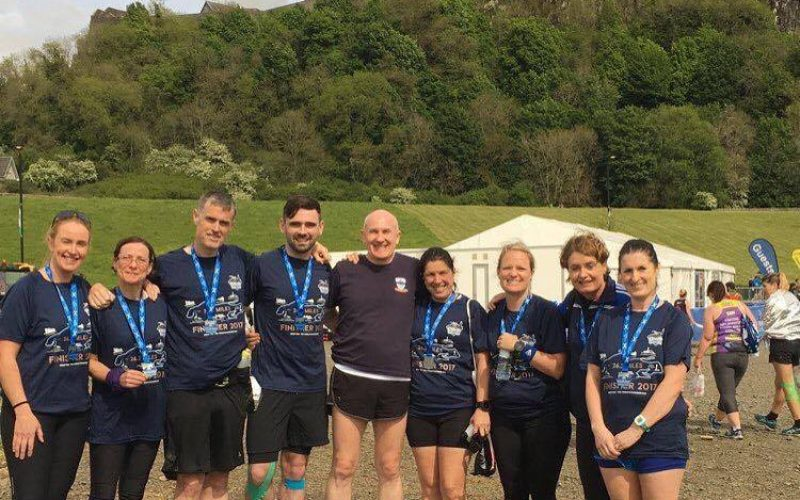 Fit4Life at Stirling marathon, 21st May 2017