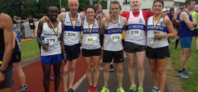 Success for Dunboyne Seniors and Fit4Life at Patrick Bell & Nicky Philips 5k Bohermeen