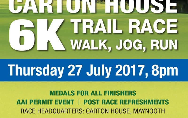 Register now for the Carton Trail Race