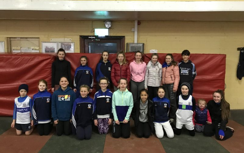 Juvenile Cushinstown Indoor T&F Open 2017