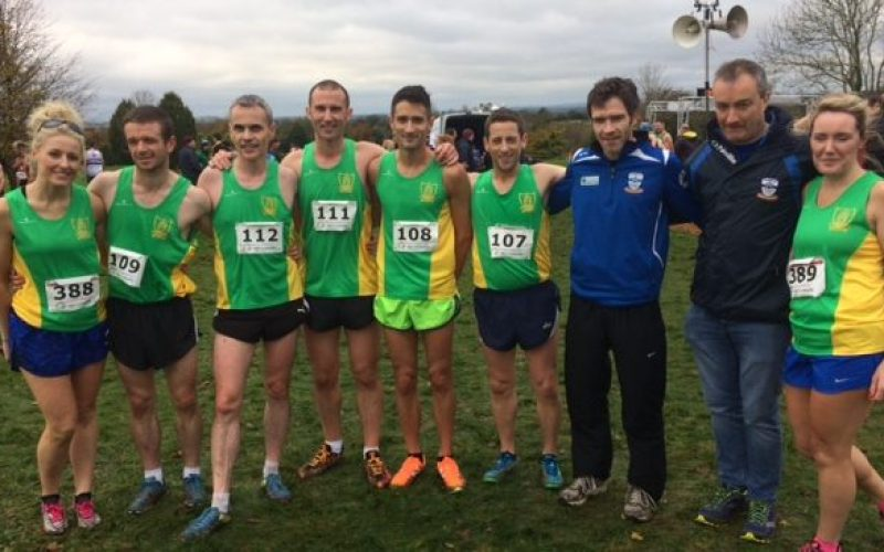 Exciting Racing at the Leinster Novice XC 2017