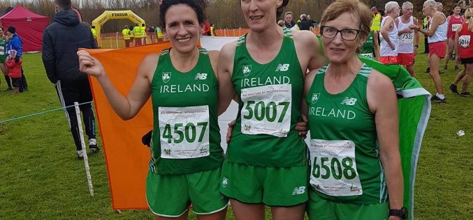 Emilia Dan Represents Ireland at the British and Irish Masters Cross Country International