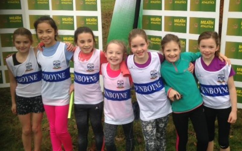 More Juvenile Success for Dunboyne AC at the Meath Cross Country Relay Championships