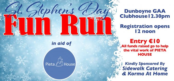 Pieta House Run – St Stephen's day