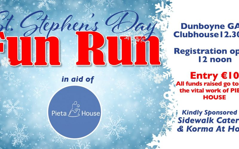 Pieta House Run – St Stephen's day