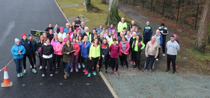 C25K on Saturday morning: 2.5k challenge on 3rd Feb