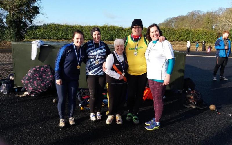 Great Performances at Dunboyne AC Winter Throws 2018
