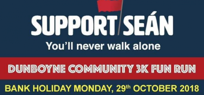 Support Sean Run – Bank Holiday Monday