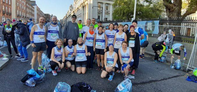 Dunboyne AC at the 2019 Dublin Marathon !