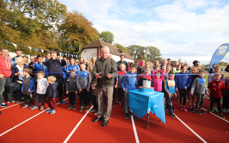 History Made as Dunboyne AC's New Tartan Track Officially Opened