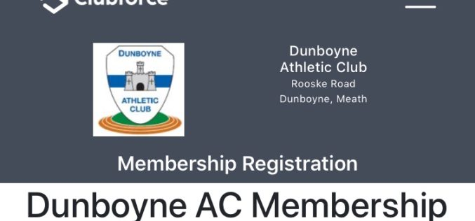 2020 Club Membership Registration Now Live – REGISTER NOW !