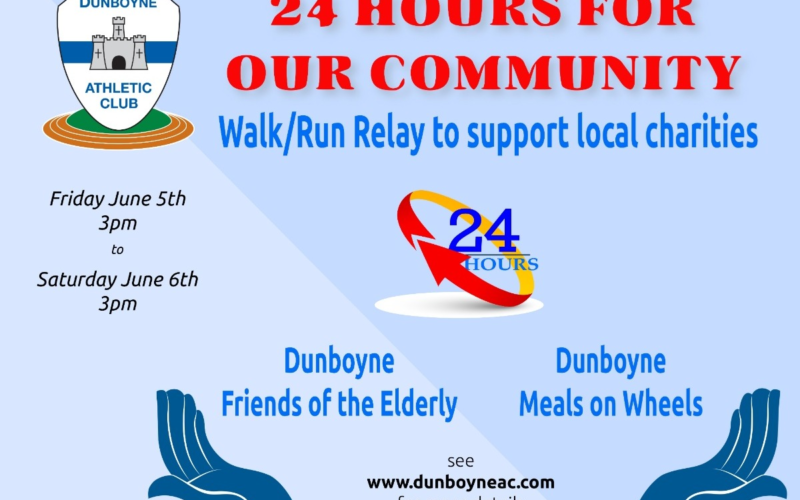Run for our Community:  A Walk/Run/Relay to fundraise for local charities