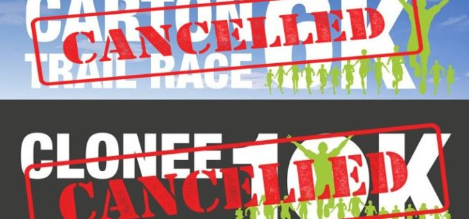 Clonee 10k & Carton Trail races cancelled, Dunboyne 10k postponed
