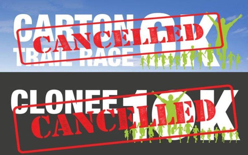Clonee 10k & Carton Trail races cancelled, Dunboyne 10k postponed